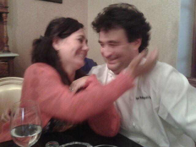 Con mi Pepe Rodríguez en El Bohío